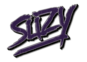 SUZY's official purple logo