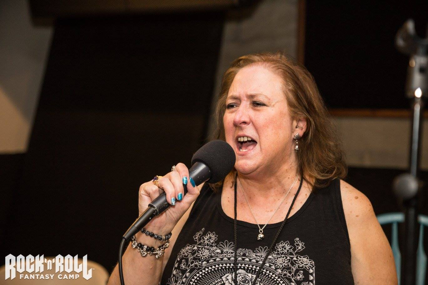 Suzy Singing at Rock N Roll Fantasy Camp